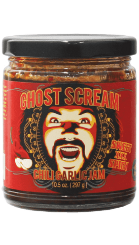Ghost Scream - Chili Garlic Jam 9oz