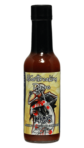Heartbreaking Dawns 1498 Apricot & Trinidad Scorpion Hot Sauce - Hot Sauce Willie's