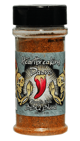Heartbreaking Dawns Memphis Belle BBQ Rub 5oz - Hot Sauce Willie's