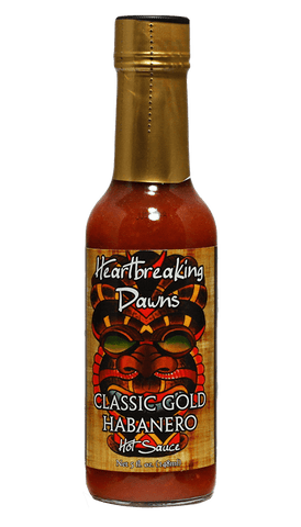 Heartbreaking Dawns Classic Gold Habanero Hot Sauce 5oz - Hot Sauce Willie's