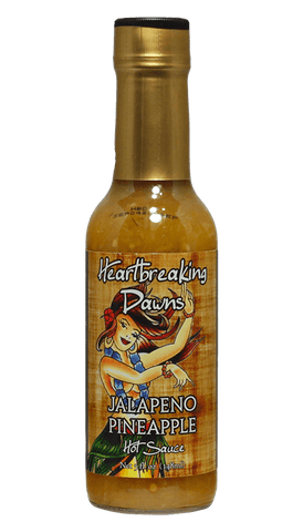 Heartbreaking Dawns Jalapeno Pineapple Hot Sauce 5oz - Hot Sauce Willie's