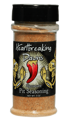 Heartbreaking Dawns Pit Seasoning Dry Rub 5oz - Hot Sauce Willie's