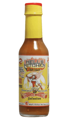 Hells Kitchen Habanero Mango Salvation 5oz - Hot Sauce Willie's