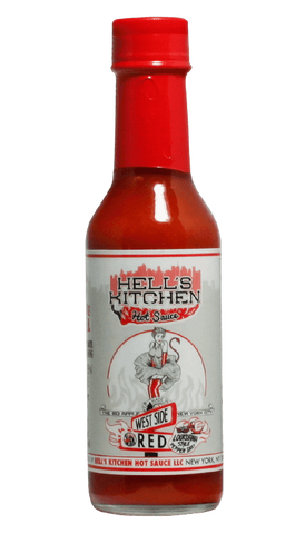 Hells Kitchen West Side Red Hot Sauce 5oz - Hot Sauce Willie's