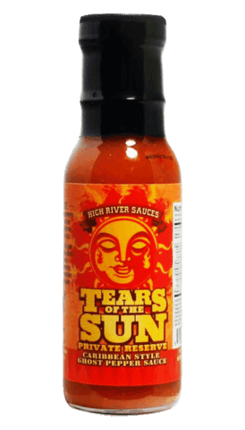 High River Sauces Tears Of The Sun Private Reserve 8oz - Hot Sauce Willie's