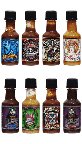 Jak Jeckel Hot Sauce / BBQ Sauce Mini Gift Pack