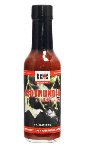 Ken's Red Thunder Hot Sauce 5oz - Hot Sauce Willie's