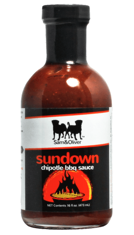Sam & Oliver Sundown Chipotle Raisin BBQ Sauce 16oz - Hot Sauce Willie's