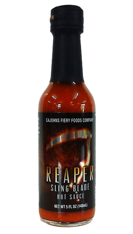 CaJohn's Sling Blade Hot Sauce 5oz - Hot Sauce Willie's