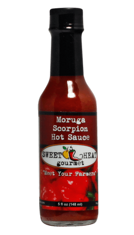 Sweet Heat Gourmet Moruga Scorpion Hot Sauce 5oz - Hot Sauce Willie's