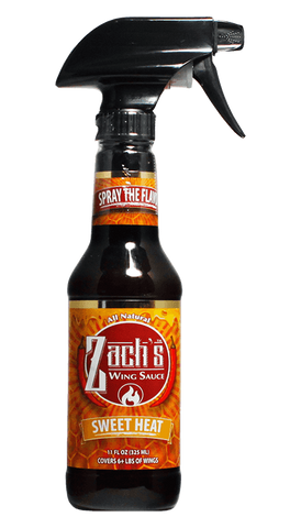 Zach's Wing Sauce - Sweet Heat 11oz - Hot Sauce Willie's