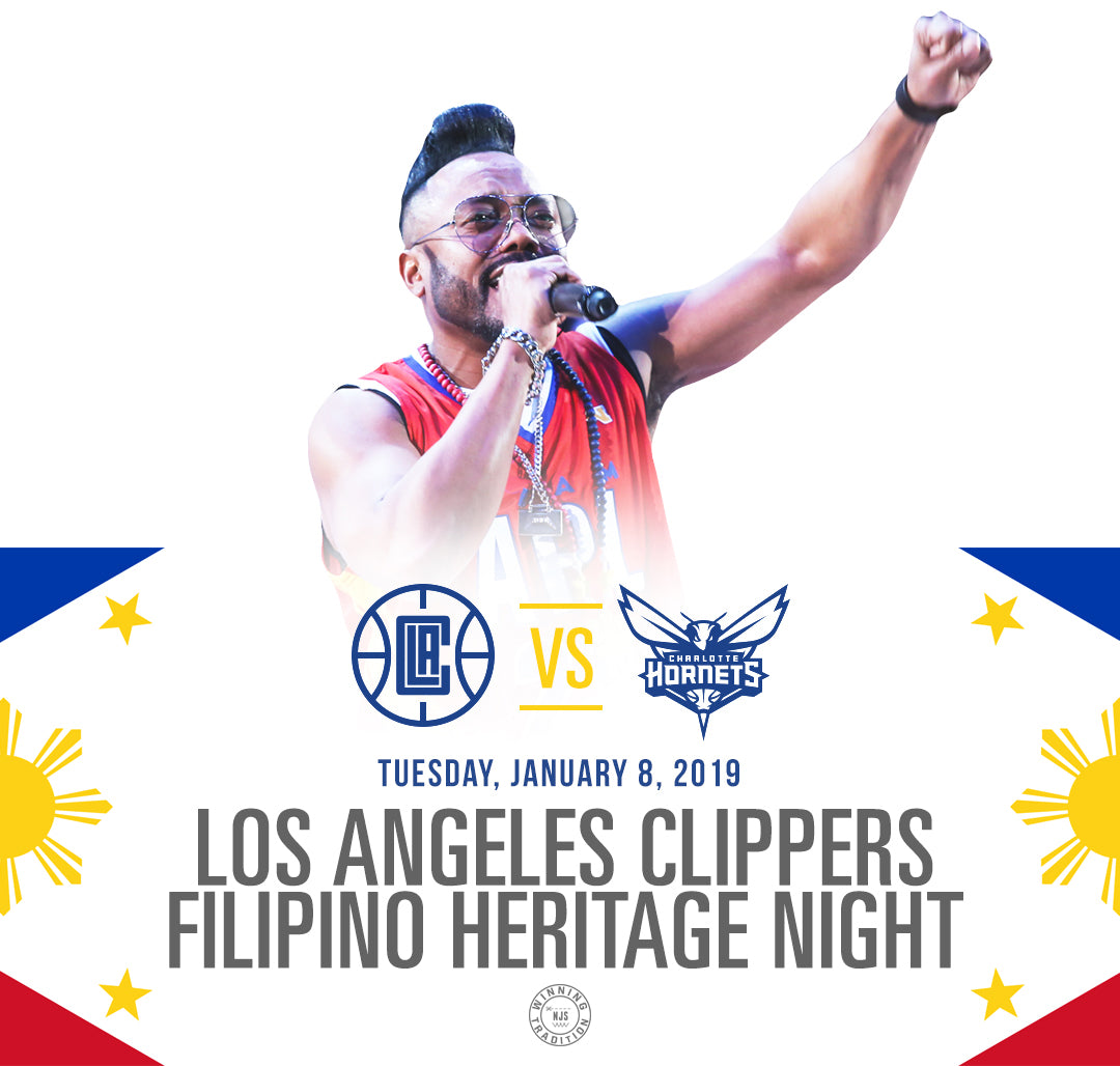 New Jersey Sets X Los Angeles Clippers Filipino Heritage Night