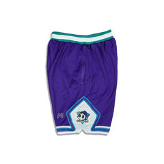 Mighty Donald  Basketball Shorts - Purple