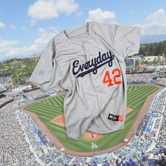 "Customizable ""Everyday Player"" Baseball Jersey - Gray"