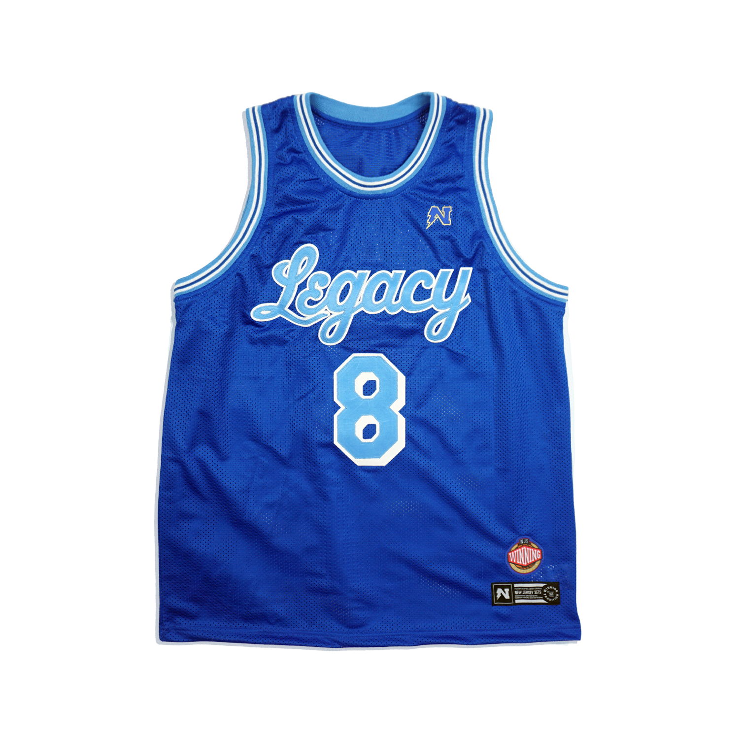 "Customizable ""Legacy"" Basketball Jersey - Royal"