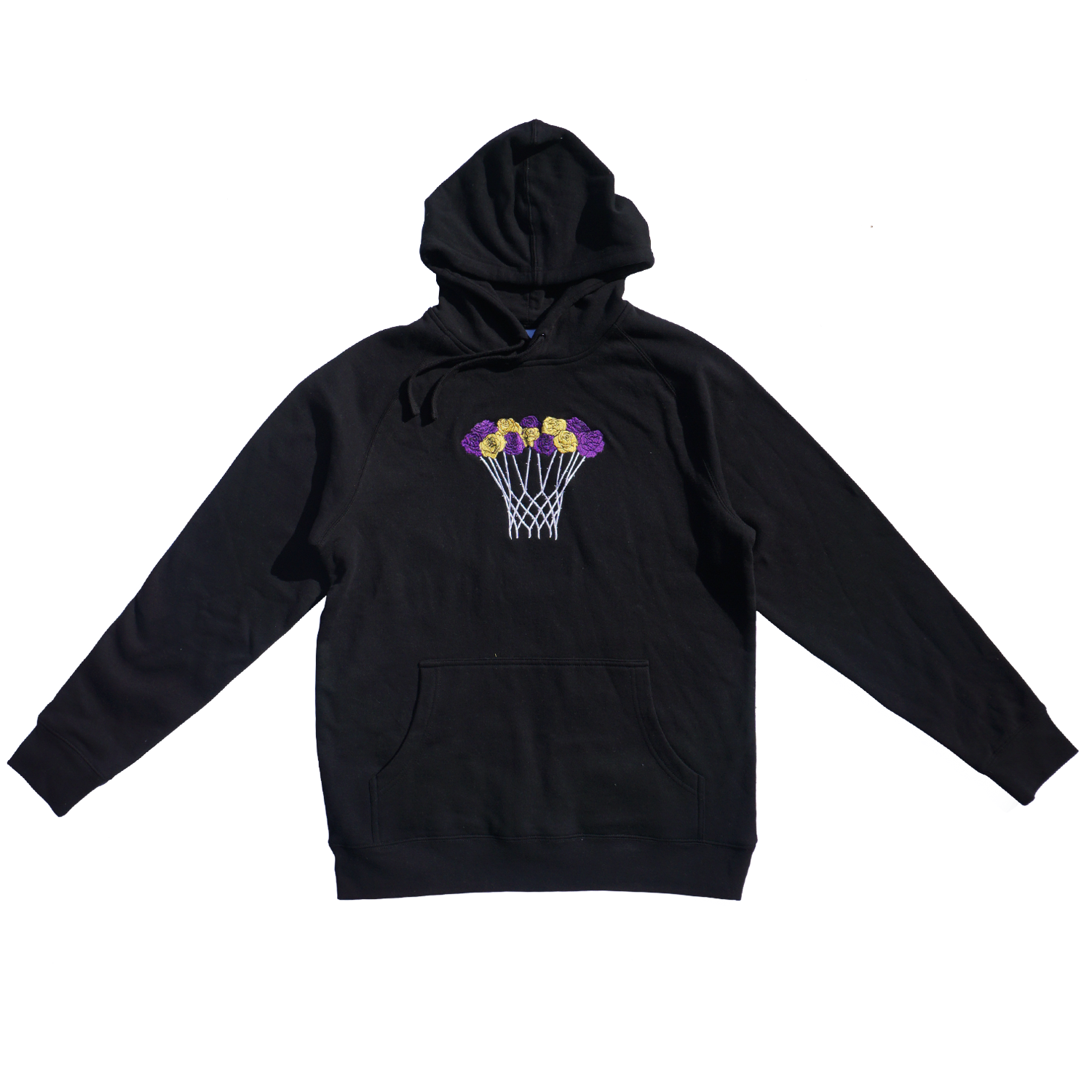 Basketball Bouquet (Mamba Rose) Embroidered Hoodie