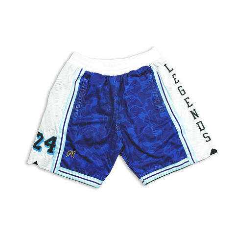 """Forever Legends"" Customizable Basketball Shorts - Youth"