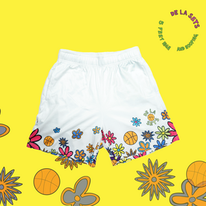 De La Sets Shorts - White