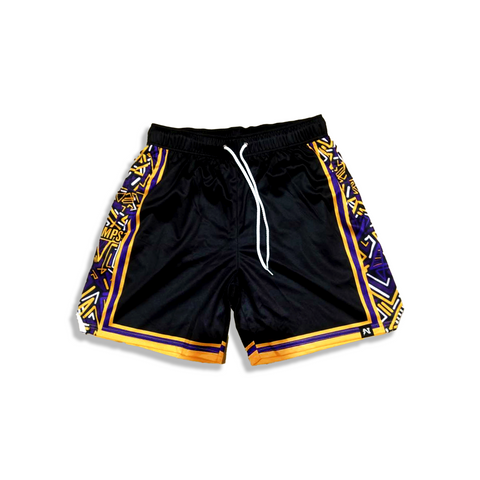 Ostertagmademedoit x NJS Basketball shorts - CHAMPS Edition