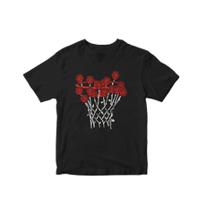 Rose City Basketball Tee - Black