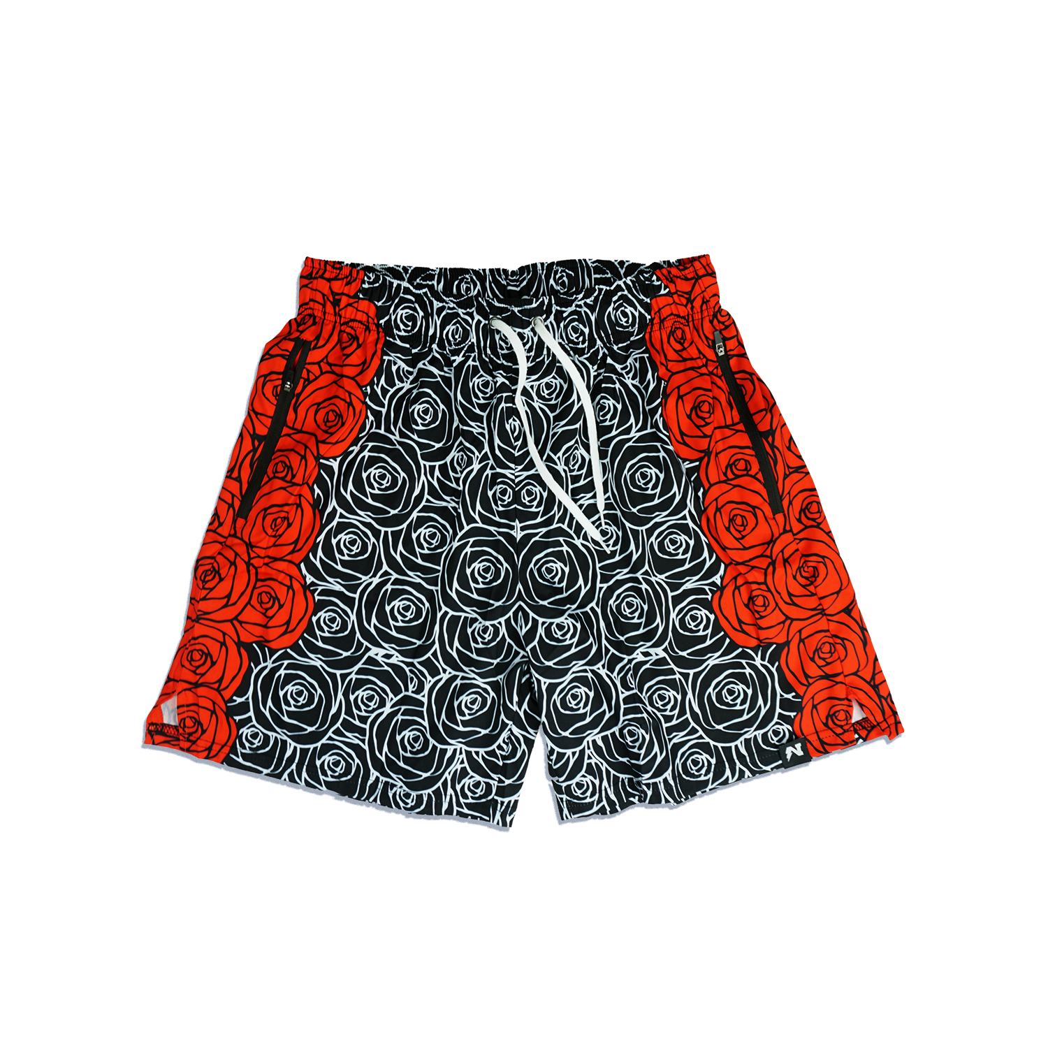 Rose City Hybrid Shorts - Black