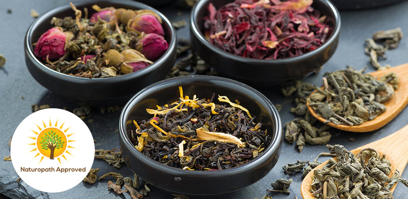 Blending functional teas with naturopath Amy Castle