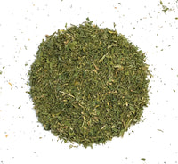 Conventional Alfalfa leaves cut
