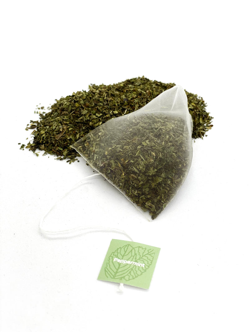Organic Peppermint - Pyramid Tea Bags