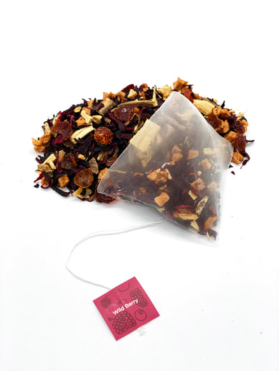 Organic Wild Berry - Pyramid Tea Bags