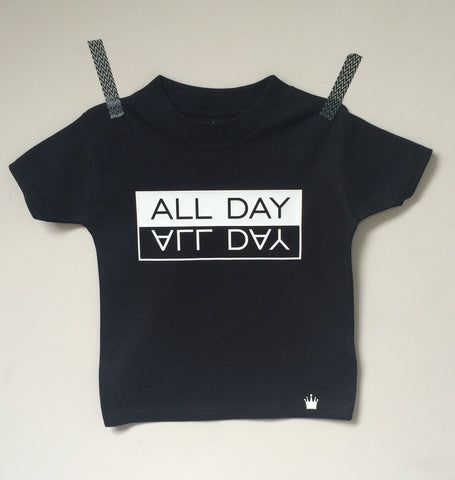 ALL DAY T-shirt (Black)