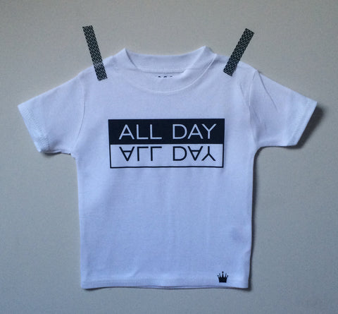 ALL DAY T-shirt (White)