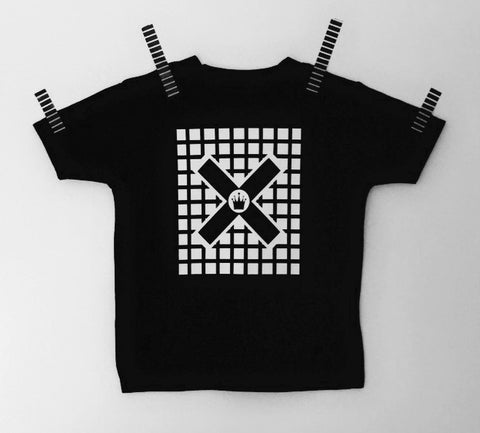 Crown in the grid T-shirt