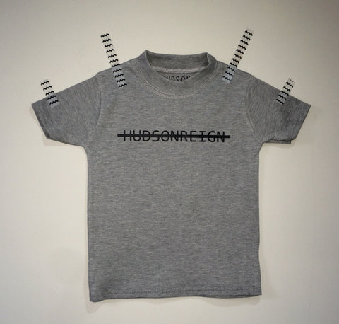 Hudson Reign Strike out (Grey T-shirt)