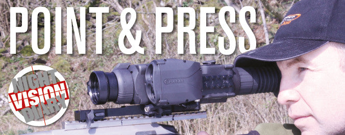 Point & Press, Featuring Graeme Kelly Displaying the latest Pulsar Thermal Imaging / Imagers