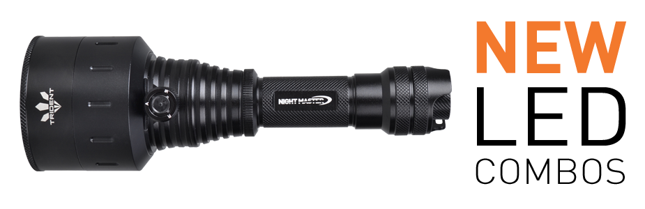 Night Master Trident with NEW LED Combinations now available