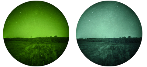 GSCI Tube Phosphor Colours, available in Green or White