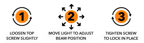 How to adjust the Night Master QMD mount