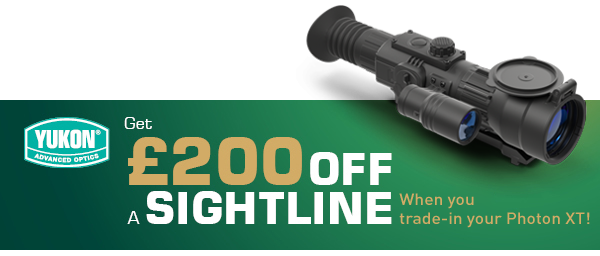 Yukon Sightline £200 trade-in deal