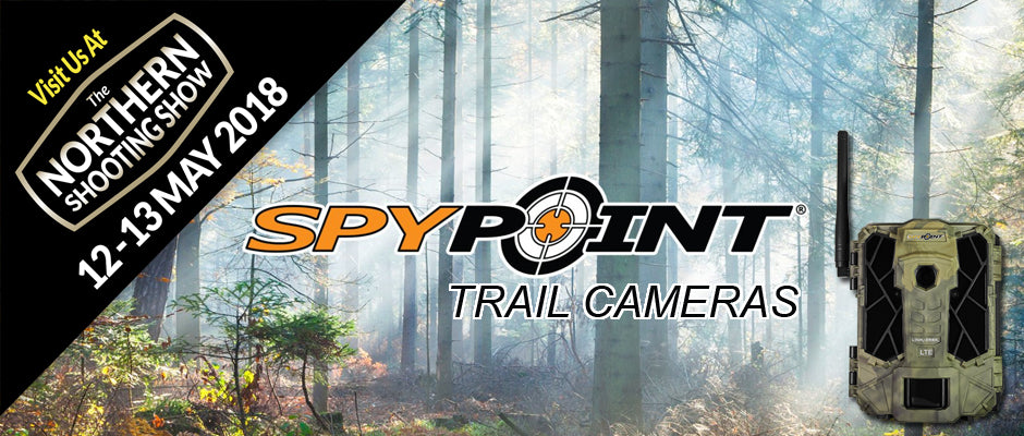 Night Master offer Spypoint at the Northern Shooting Show 2018