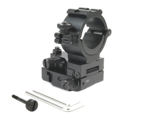 Fully Adjustable Rail Mount with Windage and Elevation Adjustment