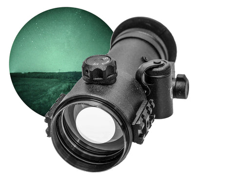 GSCI CNVD-22 Clip-On Night Vision Device White Phosphor for Hunting