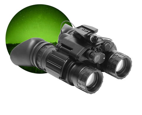 GSCI PVS-31C MOD Dual-Tube Night Vision Goggles Green Phosphor for Hunting