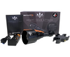 Night Master Trident Tri-LED Long Range Dimmable Hunting Lamp Kit contents