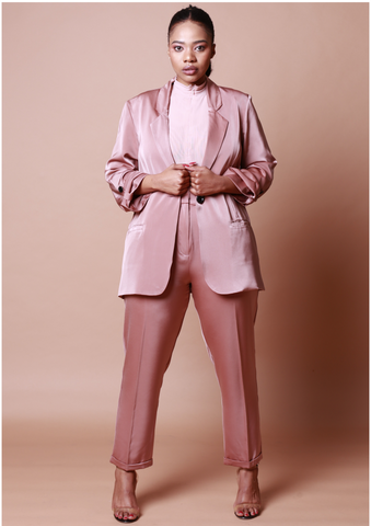 Tyra Soft Suit Jacket - Mink
