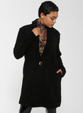 ISLA Teddy Coat - Black