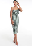 KAYA Mint Spot Dress