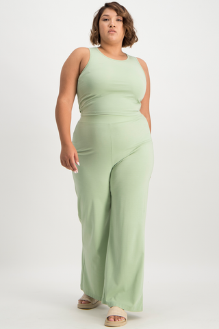 Xoli Soft Lounge Pant - Smoke Green