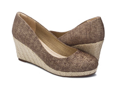Carmen Metallic Wedge for Women