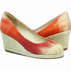 Carmen Wedge Coral/Crimson for Women