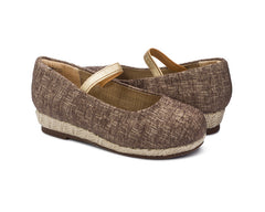 Carmen Wedge Beige for Girls